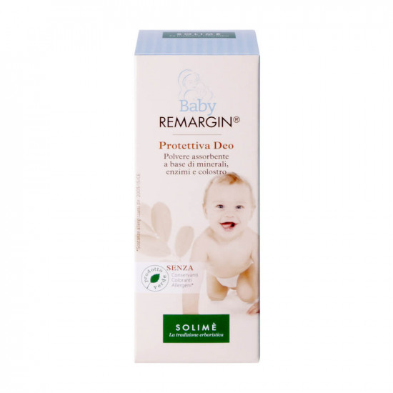 Solime, Remargin Baby puder deo , 50g